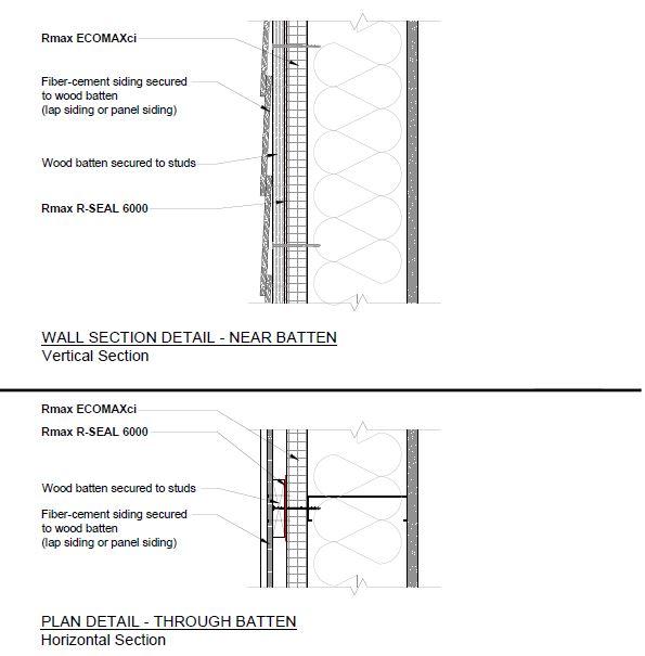 Attachment Details at Wood Batten