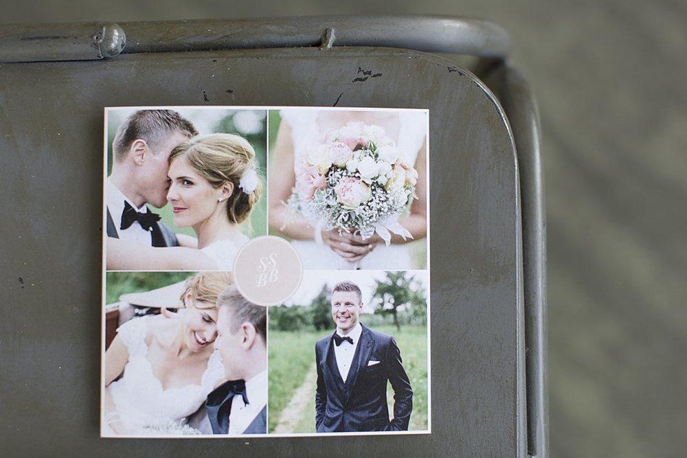 Dankeskarte Hochzeit Vintage