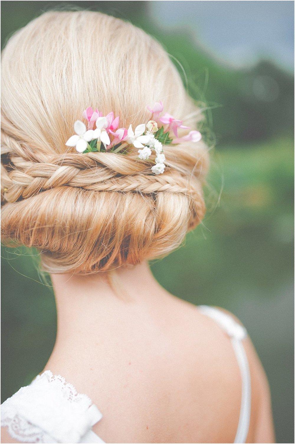 Braut Haarschmuck Blumen