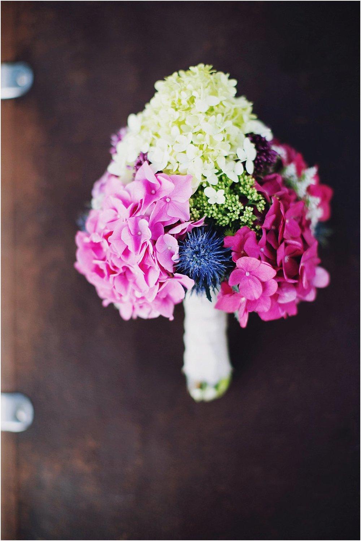 Brautstrauß kräftige Farben bunt
