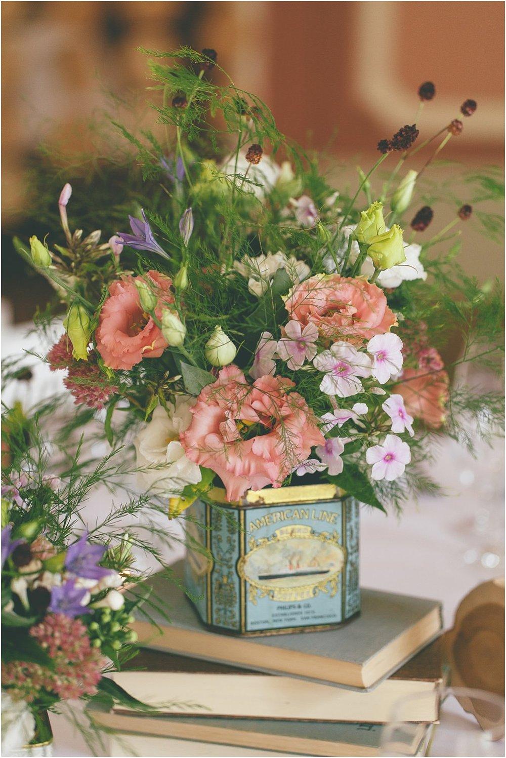 Wiesenblumen Hochzeit