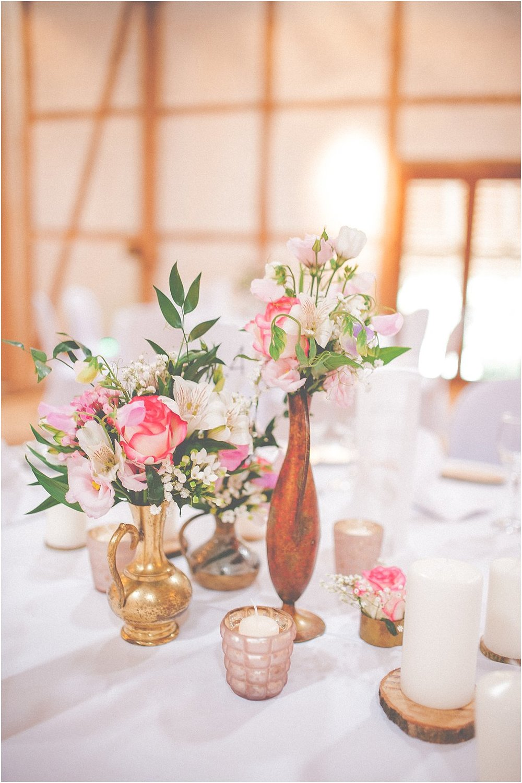 Tischblumen Hochzeit Mädchen