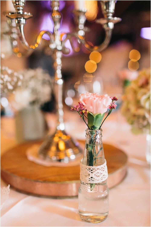 Sammelvasen Blumen Hochzeit