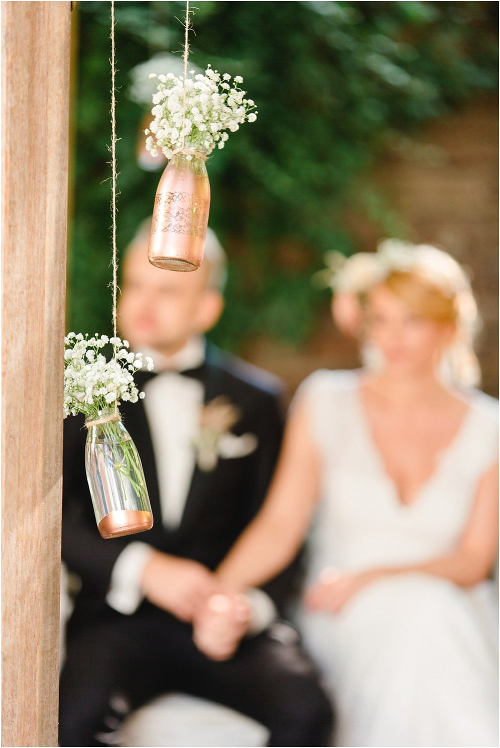 Blumenschmuck Hochzeit Kupfer