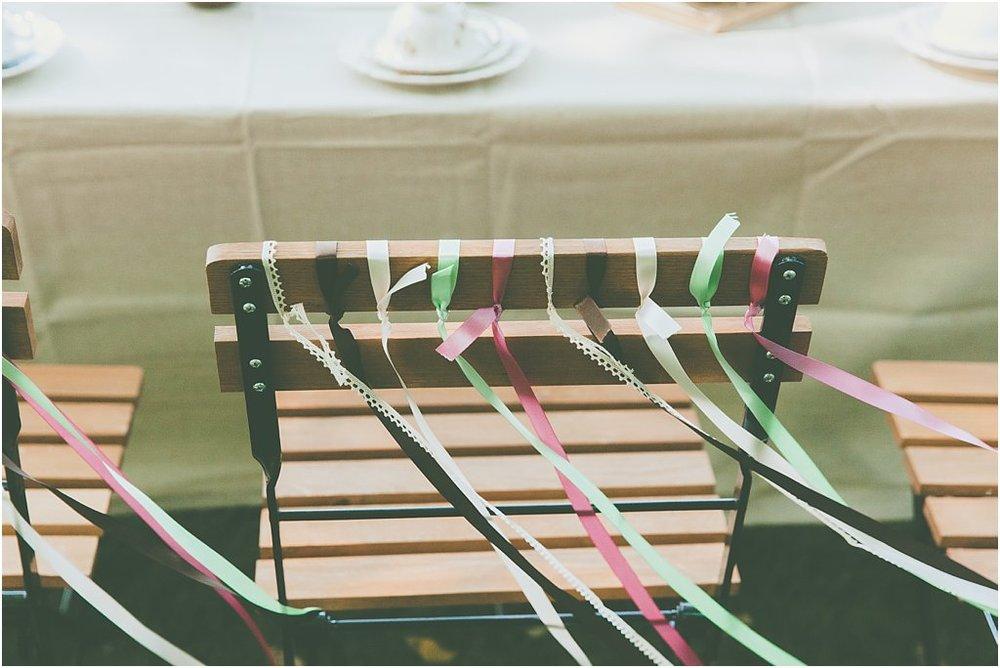 Stuhldeko Bänder
