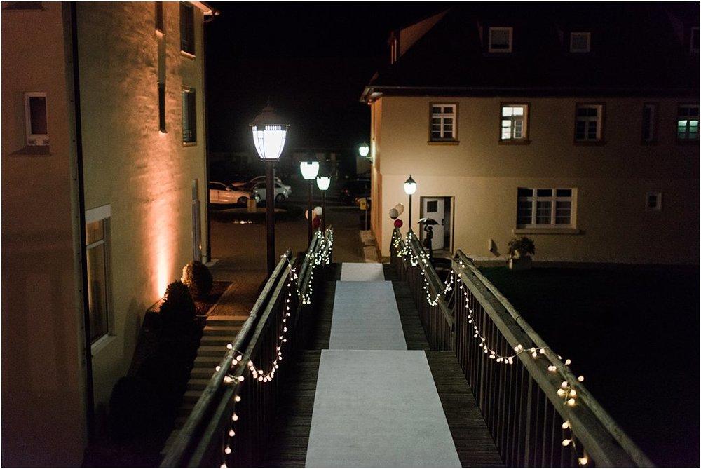 Wegbeleuchtung an Treppe