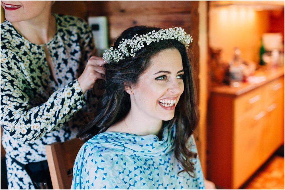 Braut Haarkranz