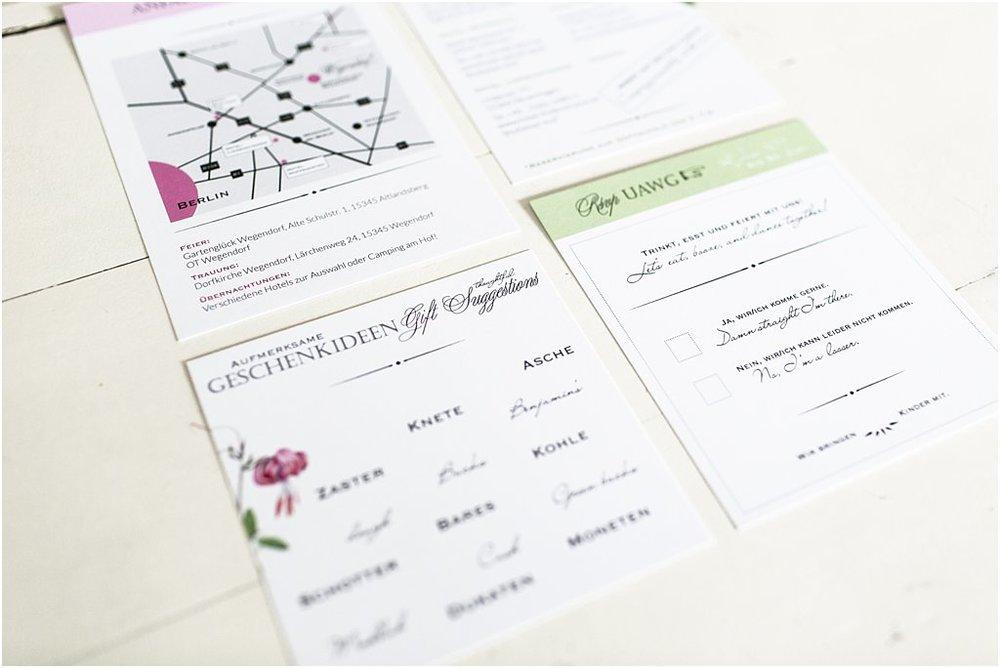 Detailansicht 4 Einsteckkarten