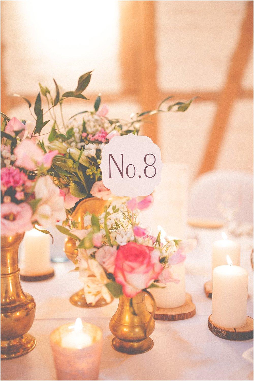 Tischnummer zum Stecken