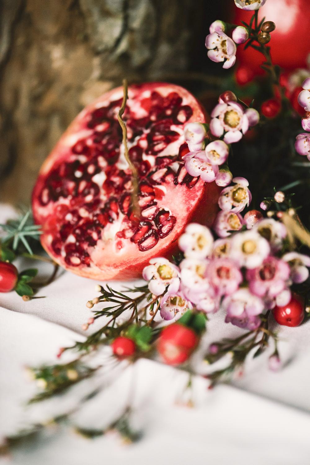 Hochzeit Granatapfel