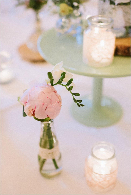 Tortenplatte Mintgrün