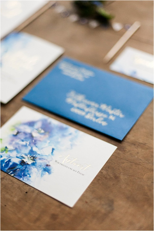 Dankeskarte Vorderseite Postkarte
