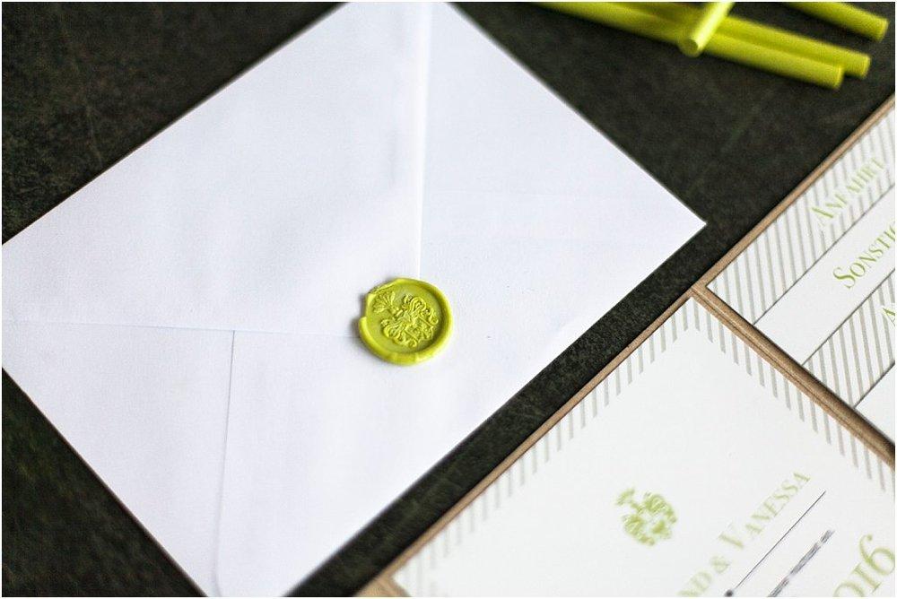 Briefumschlag mit Wachssiegel