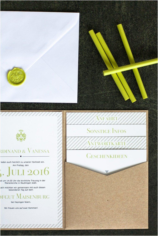 Pocketeinladung offen, mit 4 Einsteckkarten