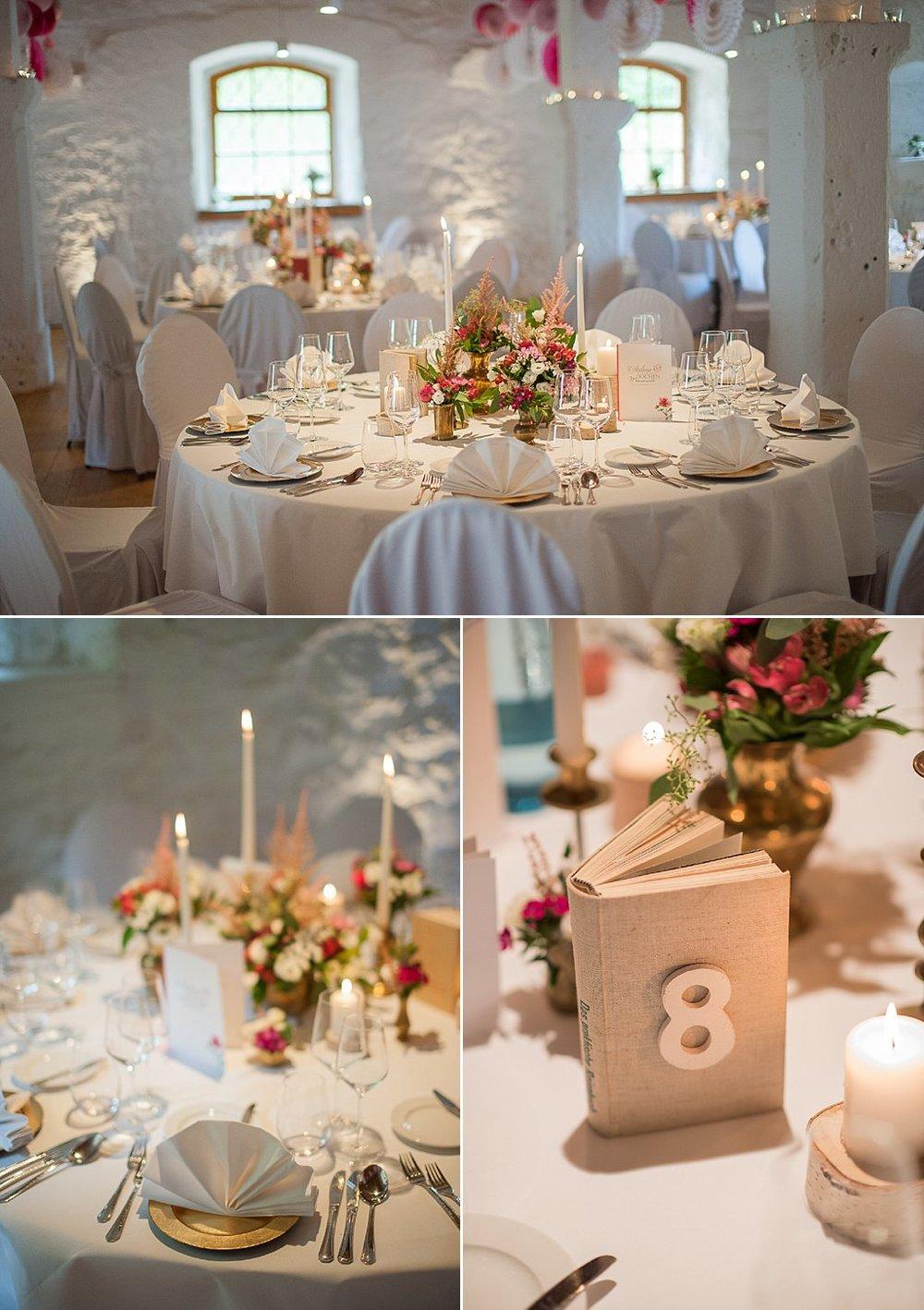 Buch Tischnummer für Hochzeitsfeiern