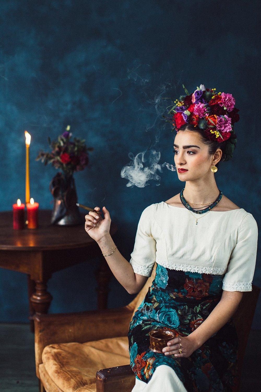 Frida Kahlo Style
