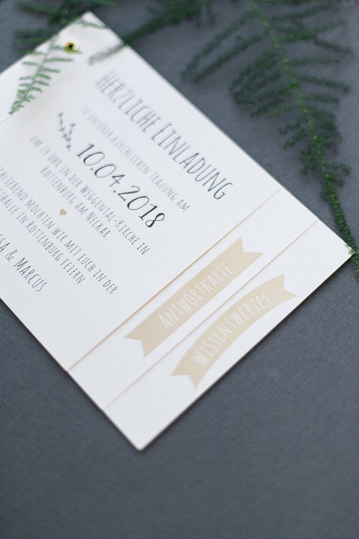 Hochzeitspapeterie Anmut Und Sinn Hochzeitsdekoration Floristik