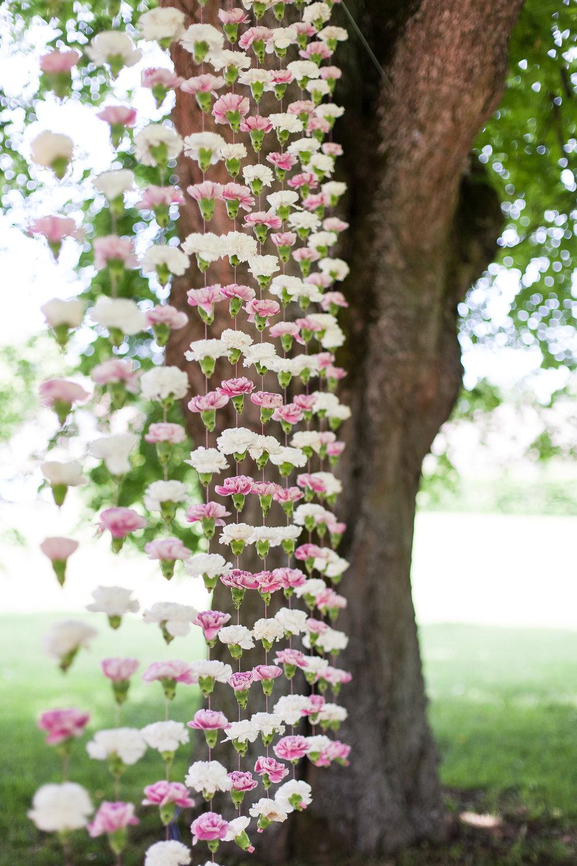 Backdrop Blumen, Blumenvorhang