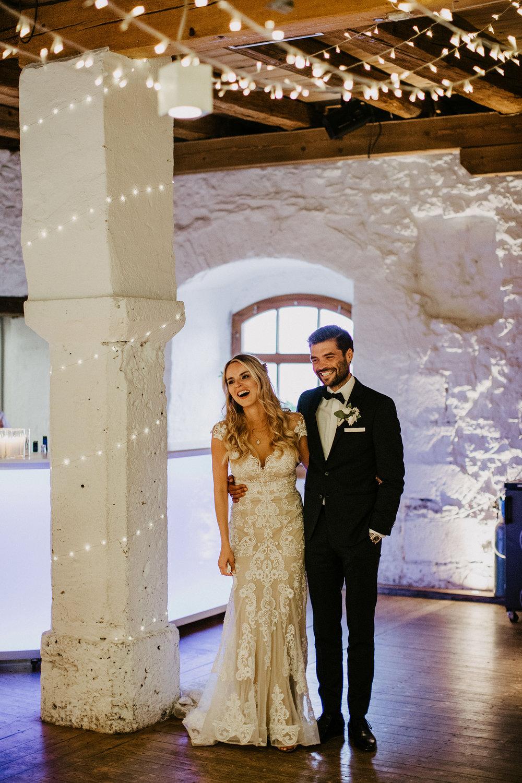 Hochzeit romantisch, gemütliches Licht
