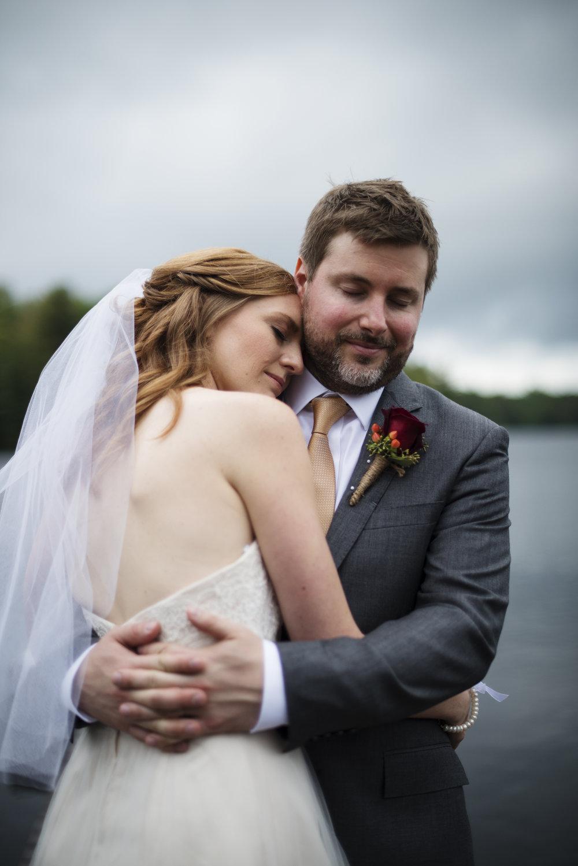 RosewoodWeddingPhotos-KarinDaren-MuskokaWedding-Cottage-CottageWedding-Moody-DramaticSky-Newlywed