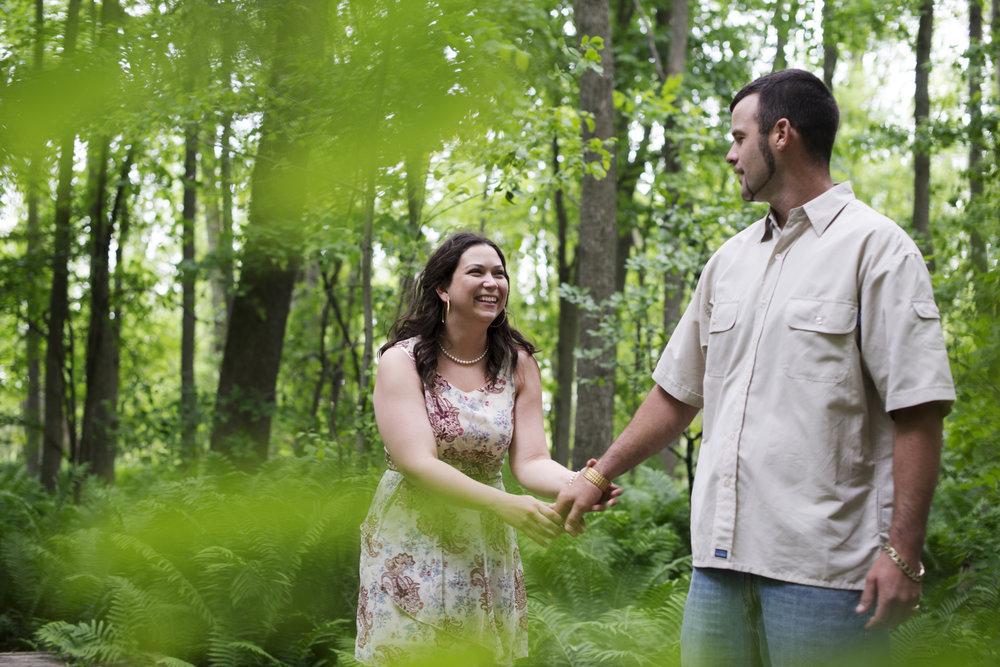 RosewoodWeddingPhotos-SarahJustin-WyeMarsh-Midland-Engagement-Engaged-EngagementSession-Forest