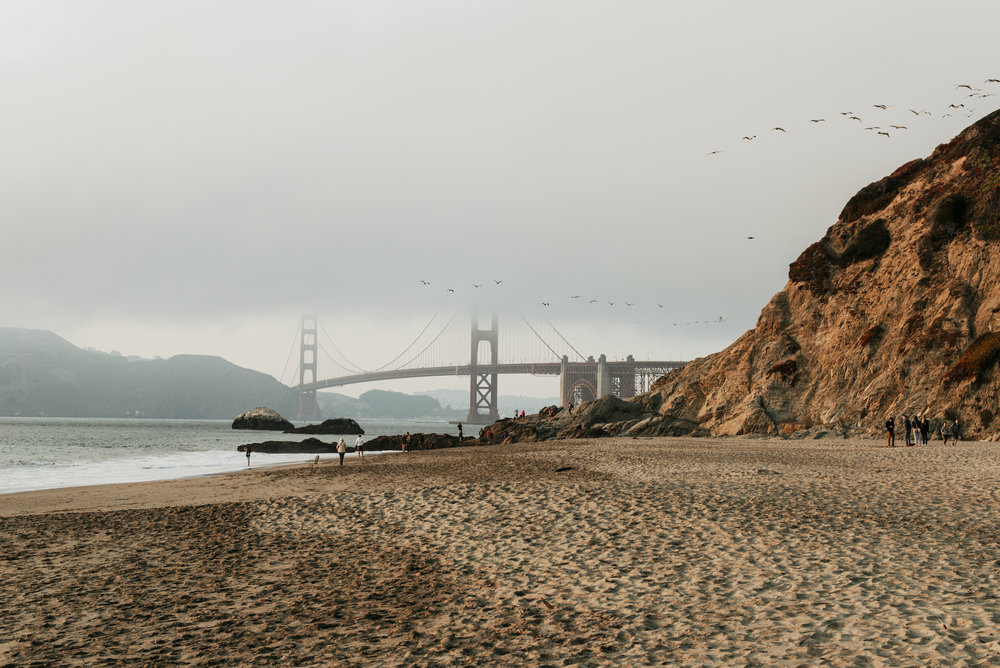 Golden Gate Bridge from Baker's Beach