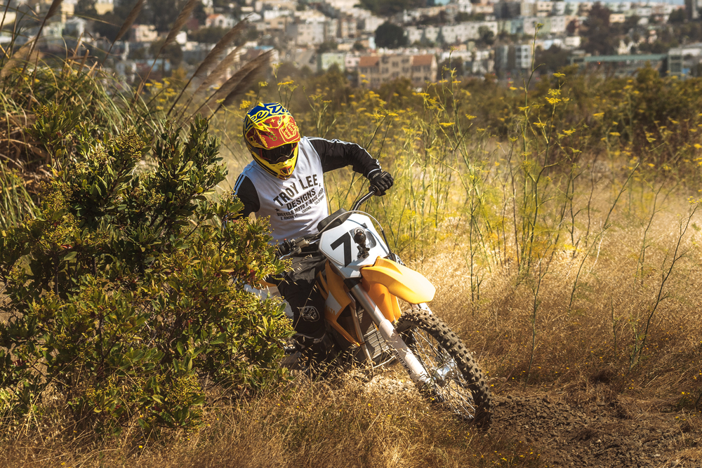 Jeff Ward Riding the Redshift MX