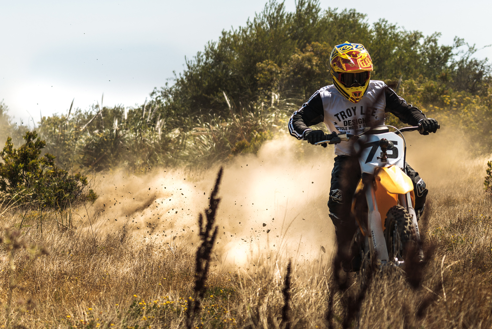 Jeff Ward Getting Air on the Redshift MX