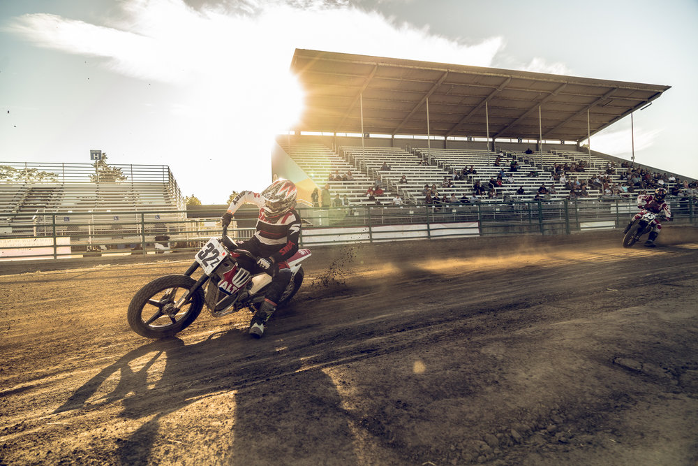 Evan Anders at Santa Rosa short Track