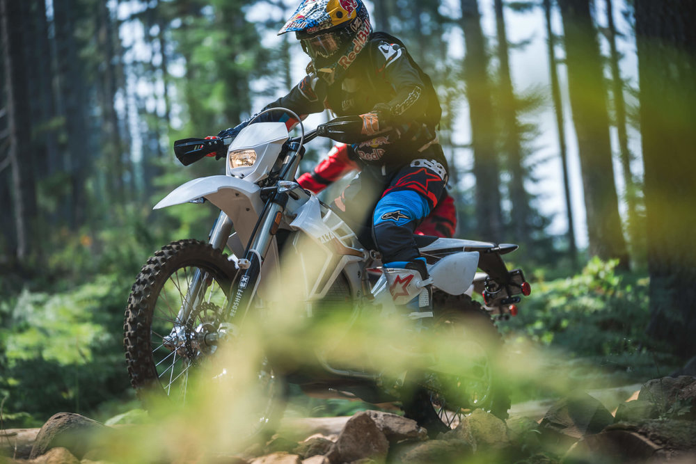 Enduro Course at Tillamook Forest