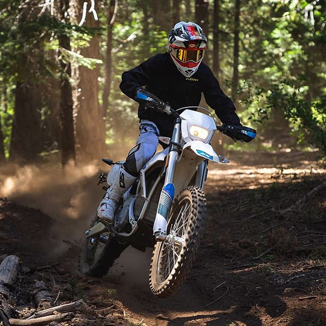 """At an elevation of 5,000 feet, full horsepower and torque was just a twist of the throttle away."" - @dirtridermag"