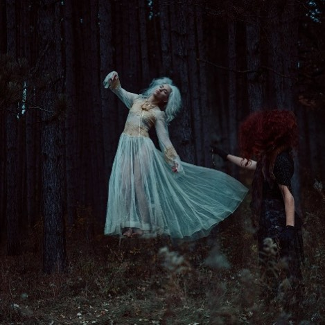 Just a dark dream... Photographer @reginawamba  HMUA @marknavarro.biz  Wardrobe & Styling @wardrobebyraquelanne  Models @misslauraduvall & @savvy.male • #photography #fantasy #beauty #minneapolis #creatives #storytelling #haunting #levitation #lighting #mood #victorian #dresses #sheer #hairinspo #nature #wardrobe #fashion #dark #darkbeauty #instagood #thriller  #inspiration #model #workflow #halloween