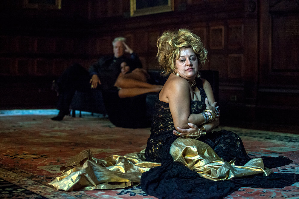 Rita Oliveira as 'The Madame'. Park Avenue Armory, 2014. Photo by Maria Baranova