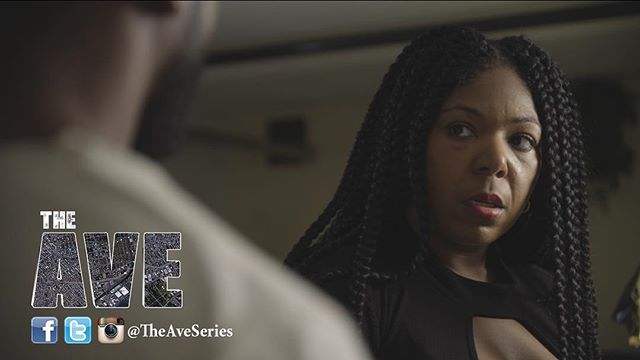"""Here's another look at season two of #TheAveSeries. If you love #cookielyon then you'll instantly fall in love with """"Rolanda"""" this FALL. @ladybugcourts Is bringing it with this character. Telling by her look, she's not the one you wanna cross."""