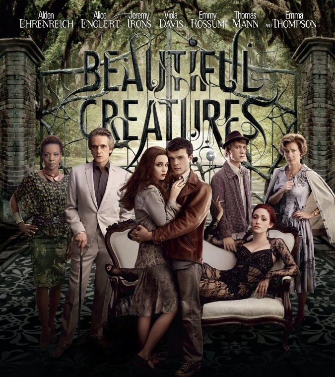 BEAUTIFUL CREATURES  directed by Richard LaGravenese - with Emma Thompson and Jeremy Irons.