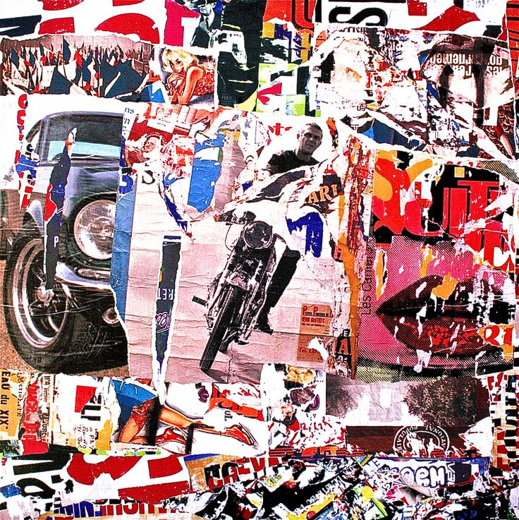 Collage in Street Art — ART at EGHS