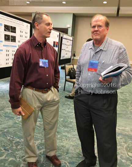 Vincent Lombardi, Ph.D., Director of Research, Nevada Center for Biomedical Research, Reno, NV (left) and Dan Peterson, clinician-researcher, Simmaron Research scientific advisor, Incline Village, NV. Lombardi and long-time M.E. researcher Kenny DeMerlier, who is medical director at the Nevada Center, have been collaborating to identify M.E. biomarkers.