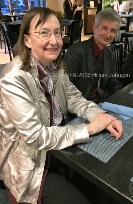 Maureen Hanson, director of the Cornell Center for Enervating NeuroImmune Disease, Cornell University, Ithaca and David Strayer, chief scientific officer, Hemispherx Biopharma, Inc., Philadelphia.