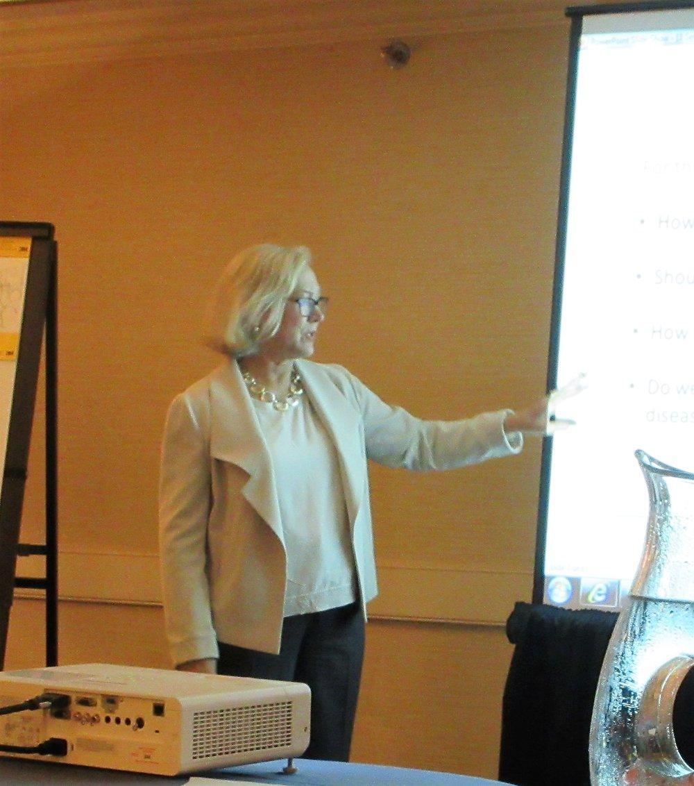 Carol Head, President, Solve ME/CFS Initiative