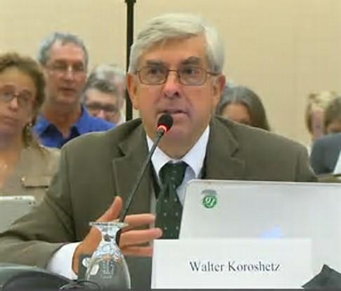 Walter Koroshetz, Director, National Institute of Neurologic Disorders and Stroke