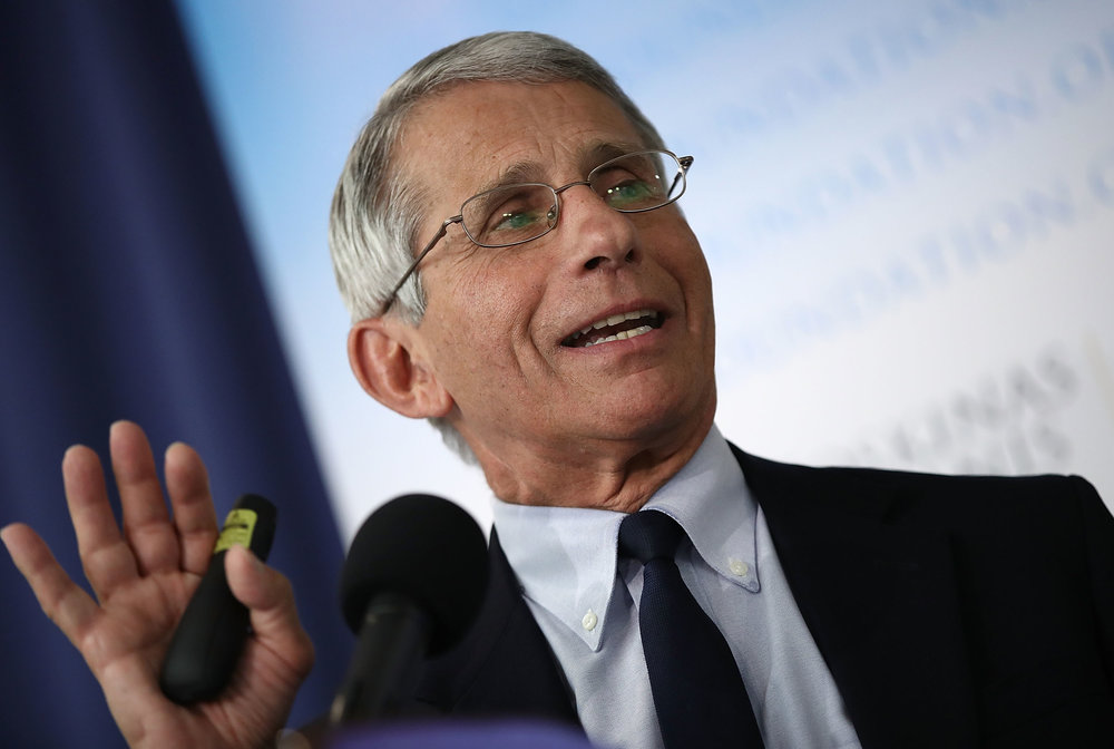Anthony Fauci, Director, National Institute of Allergy and Infectious Diseases, NIH