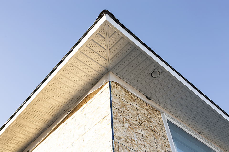 Gentek Soffit, Fascia, and Cladding.