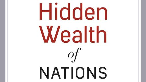 "Image from Gabriel Zucman's book ""The Hidden Wealth of Nations: The Scourge of Tax Havens"" published in 2015."