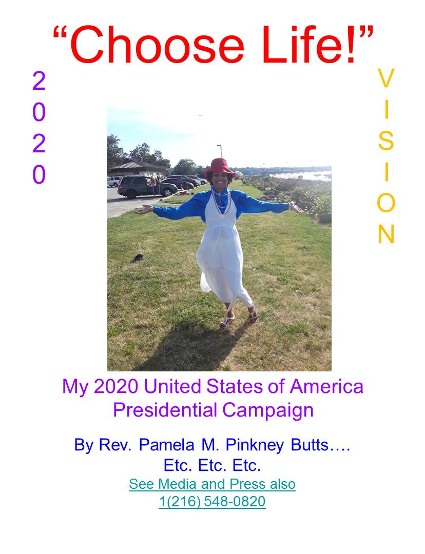 PAMELA FOR PRESIDENTESS 2020