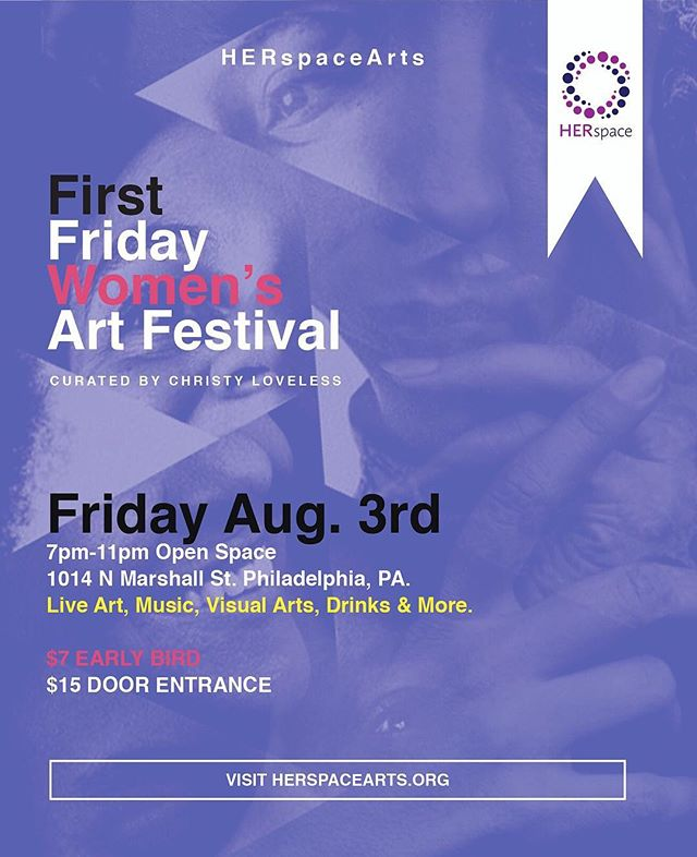 HMN is heading to Philly! All Philadelphia friends, come on out to @openspacephl this Friday for @herspacearts First Friday Women's Art Festival 💞 We will be exhibiting QUEEN, our project with @kissmedeadlydoll and @rachelthalia.  Can't wait to see you there!