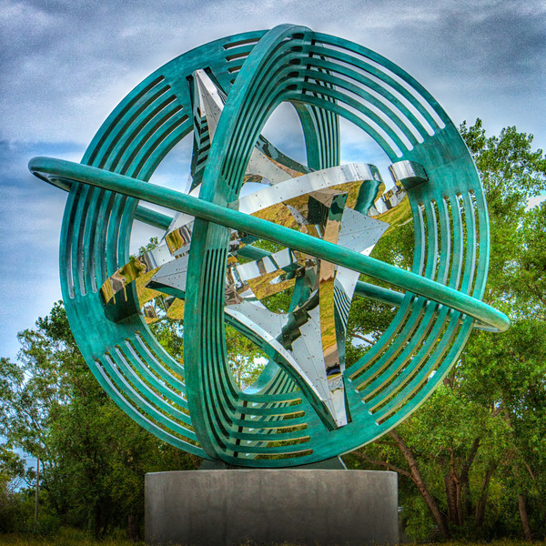 In 2013, Leadership Oklahoma City, Inc. made a gift of Compass Rose, a sculpture by noted artist Owen Morrel, to the City of Oklahoma City. Click to learn more.
