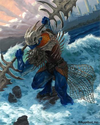 "Sea Servant, 16x20"" Oil on panel Sold"