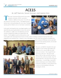 Summer 2015 Newsletter