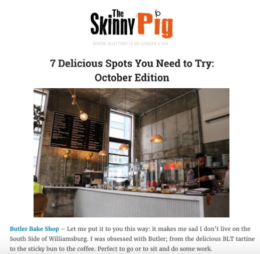 THE SKINNY PIG