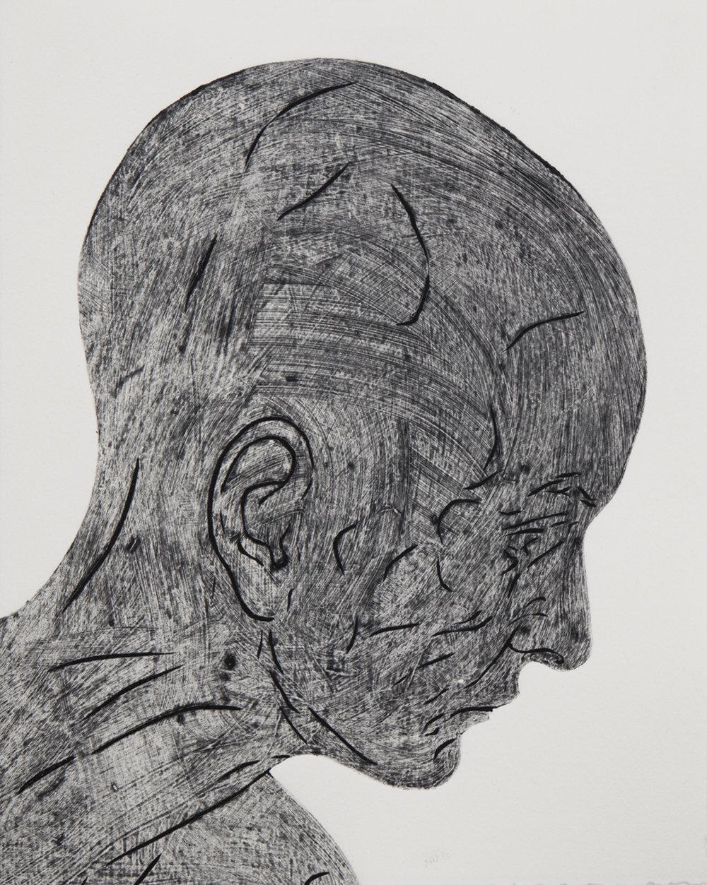 Study of head, 1
